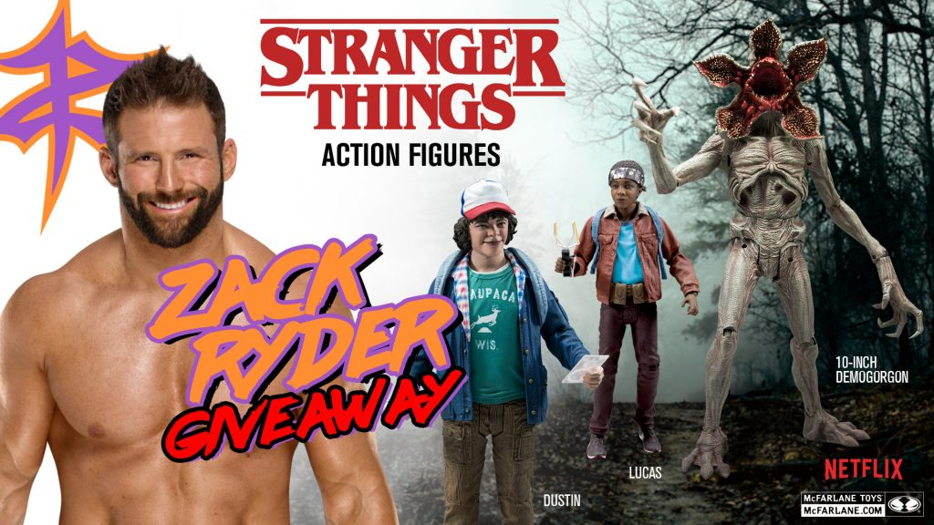 Zack Ryder Stranger Things giveaway image