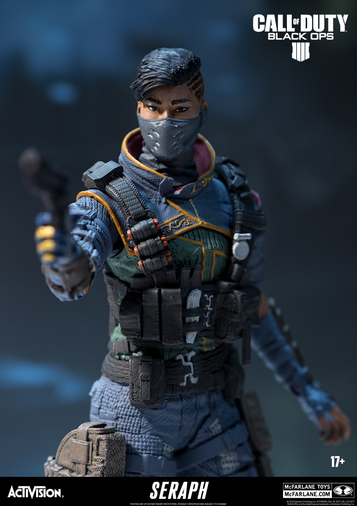 """COD Call Duty Black Ops 4 PS4 Game SOAP GHOST SERAPH RUIN 7/"""" Action Figure John"""