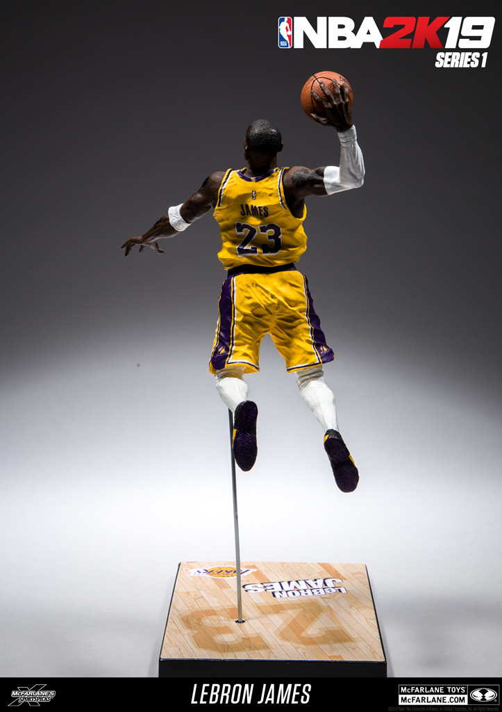 Lebron James by Mcfarlane toys