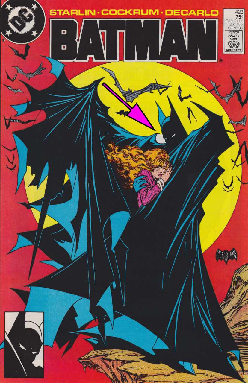 Batman 423_arrow