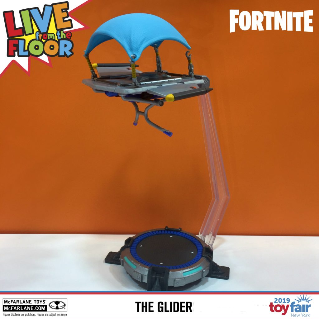 Gliders are equipped with play action wings. Coming Spring 2019