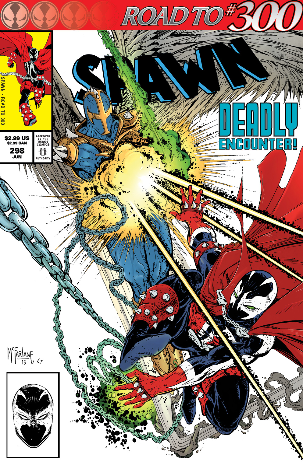 Spawn 298 Out Next Week!