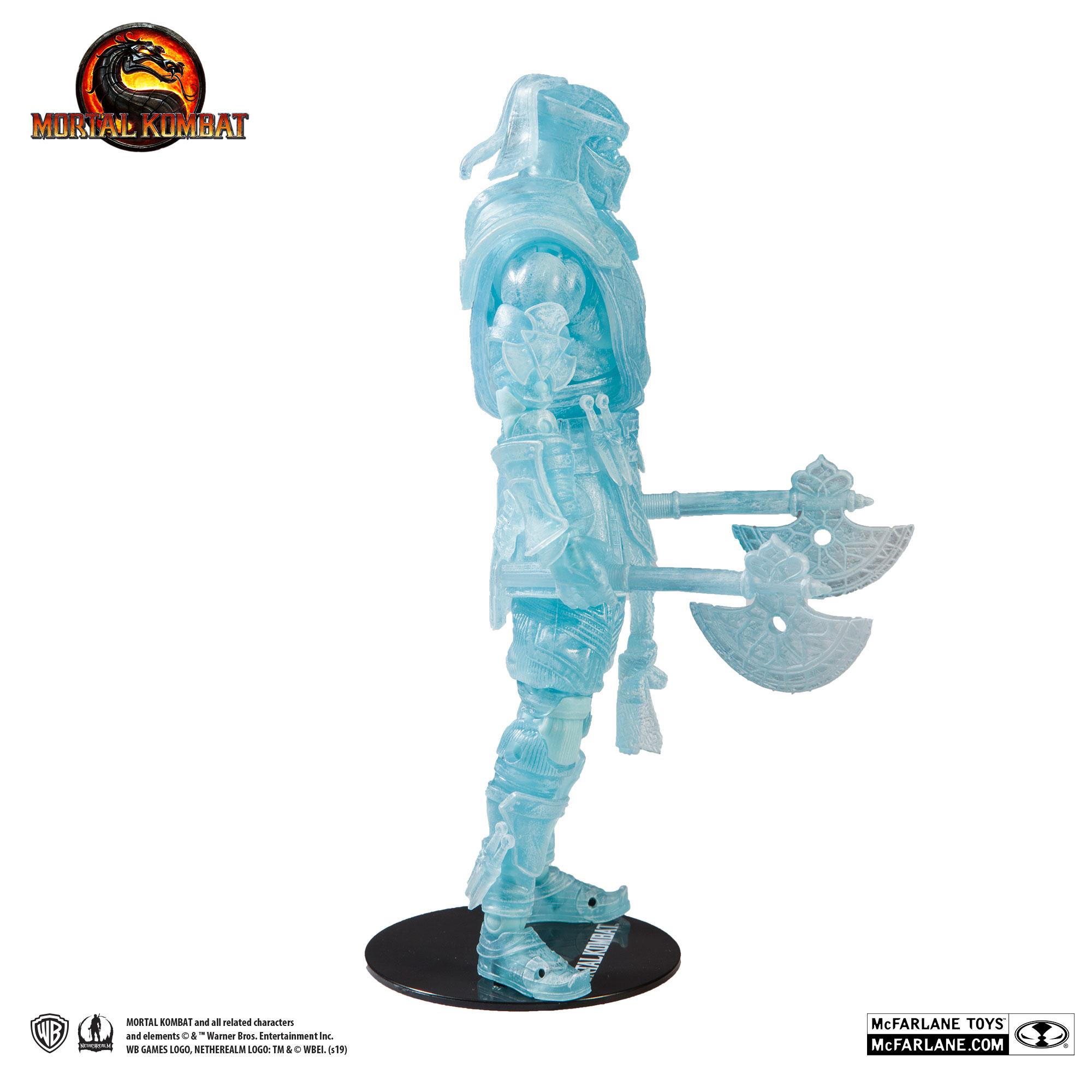 Mortal KOMBAT 11 SPECIAL EDITION Sub Zero Ice personaggio di Mc Farlane #neu /& OVP #