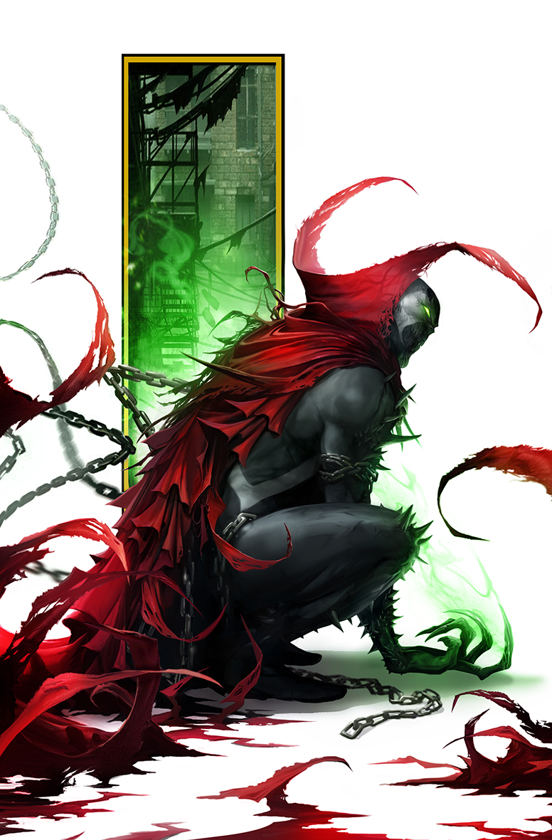 Spawn #305 cover