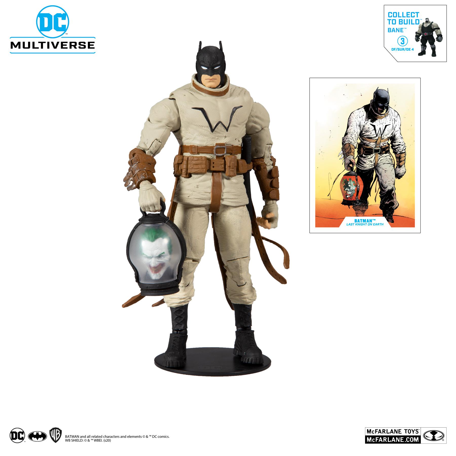 Build-A-Bane) Batman: Last Knight on Earth #3