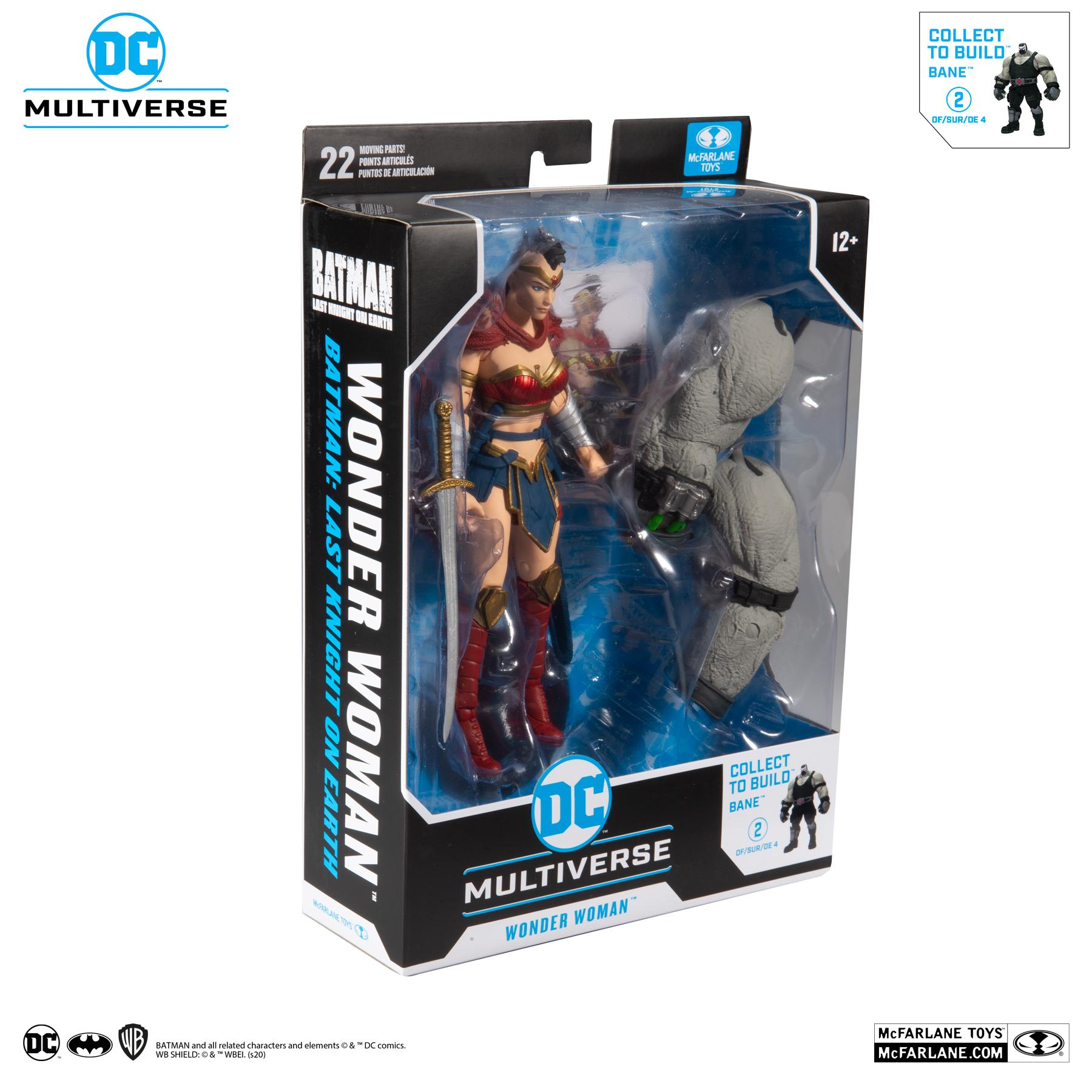 Bane BAF **PREORDER** WONDER WOMAN McFarlane DC Last Knight on Earth