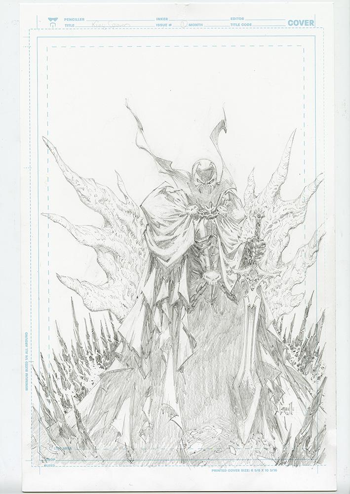 King Spawn Capullo_Pencil